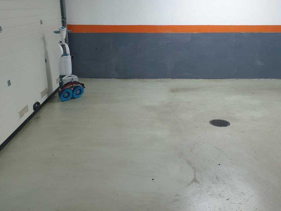 Mašinsko poliranje podova podzemne garaže Beograd