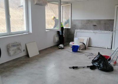 Čišćenje stana nakon izvedenih radova