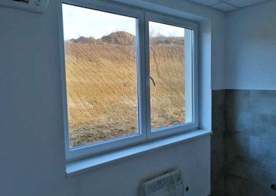 Detaljno očišćeni prozor