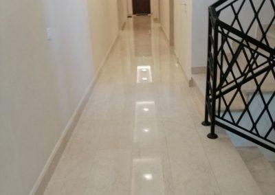Izgled hodnika hotela u Beogradu nakon našeg čišćenja