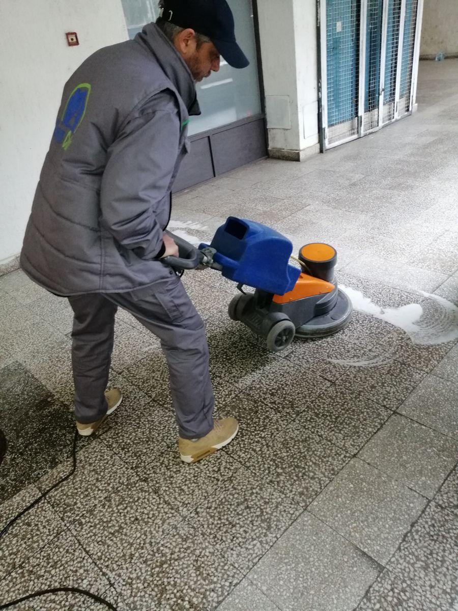 Mašinsko poliranje Clean Codex tima