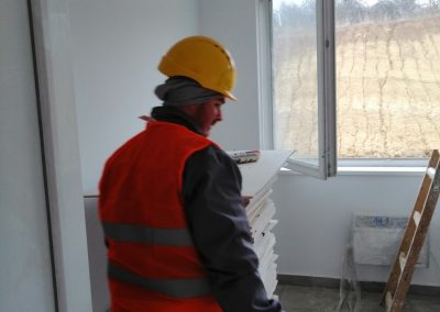 Priprema za čišćenje i poliranje prozora