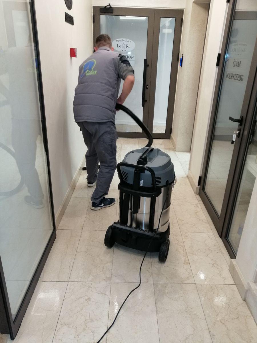 Rad na pružanju usluge mašinskog paranja i poliranja