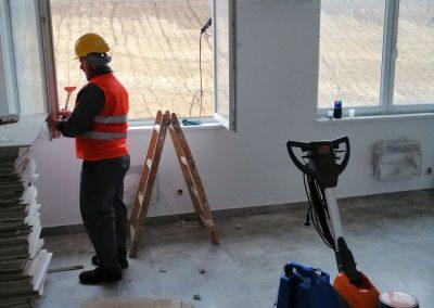 Usluga ploranja prozora nakon građevinskih radova